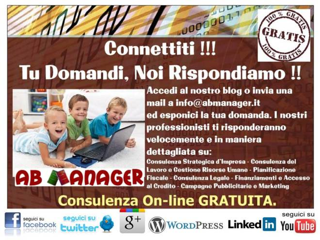 cartolina consulenza on line